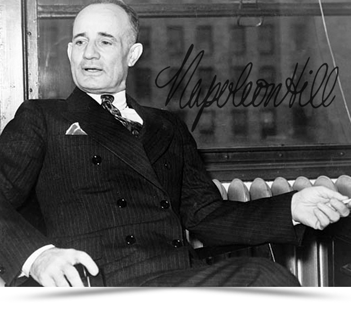 napoleon hill In this course, you'll learn napoleon hill's step-by-step approach to creating  success--financial or any other you desire along with reading his highly  influential.